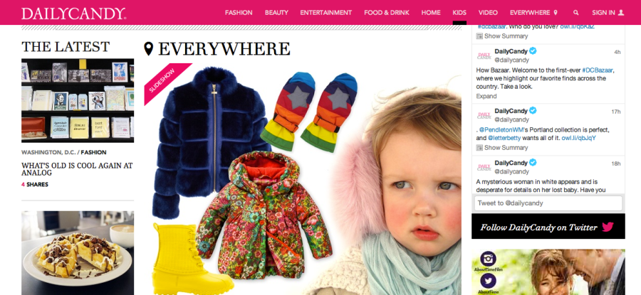 DC KIDS HOMEPAGE OILILY