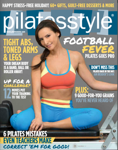 PILATES STYLE NOV DEC COVER