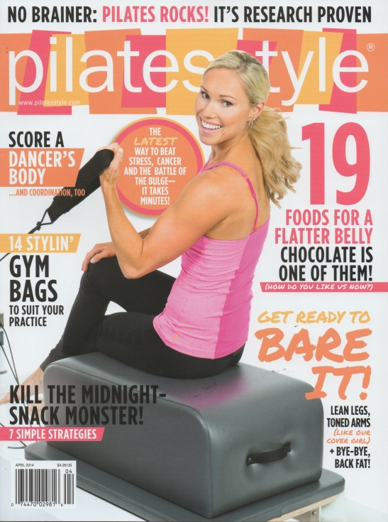 PILATES STYLE COVER APRIL