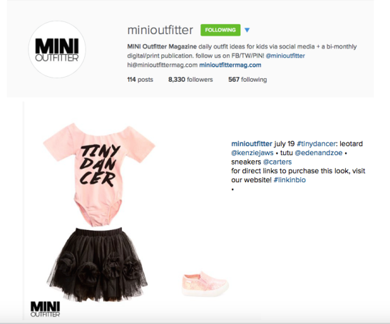 MINI OUTFITTER IG