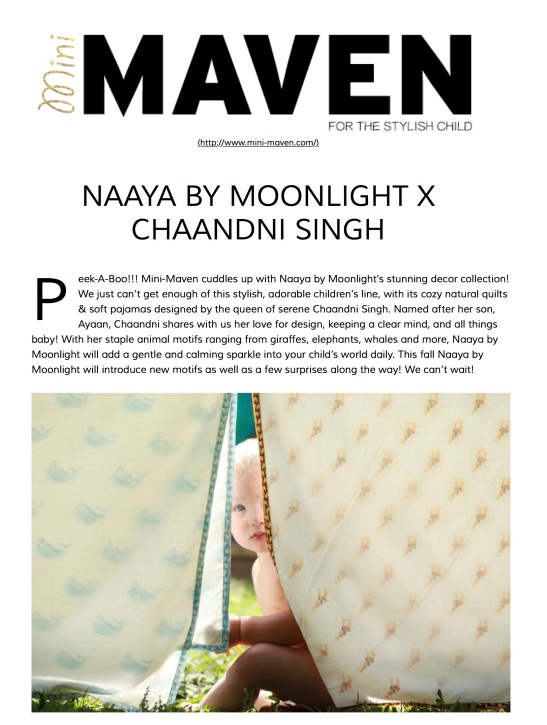 Naaya by Moonlight x Chaandni Singh | Mini Mavens