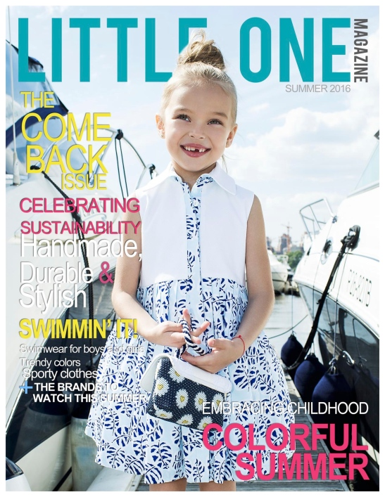 LITTLE ONE MAGAZINE COVER