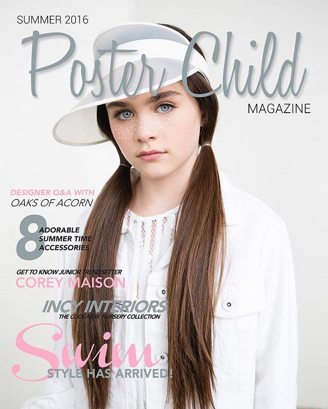 POSTER CHILD MAGAZINE COVER