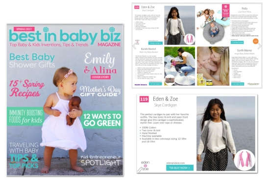 BEST IN BABY BIZ EDEN ZOE