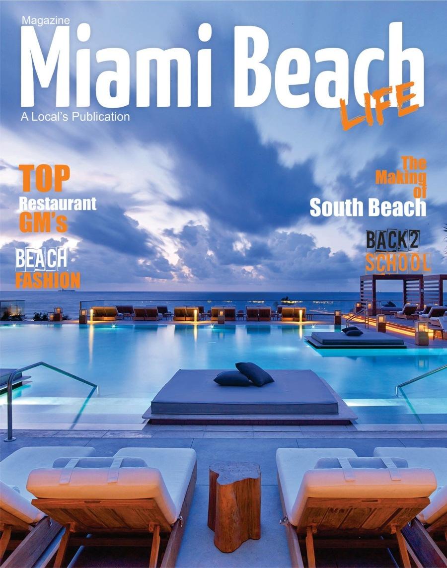 MIAMI BEACH LIFE COVER