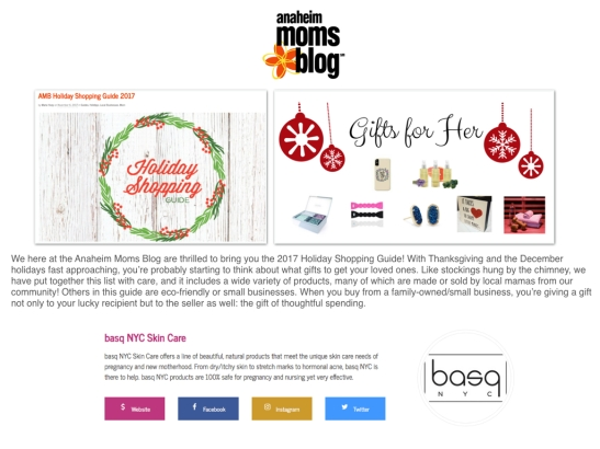 CITY MOMS BLOG ANAHEIM BASQ NYC