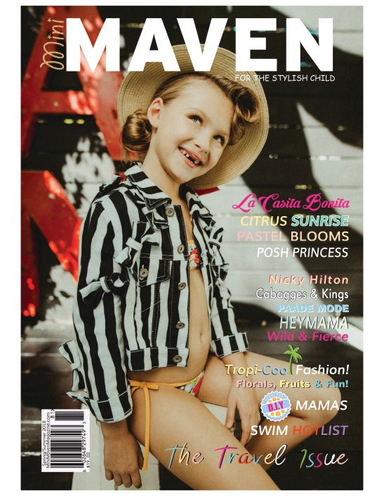 MINI MAVEN TRAVEL ISSUE COVER