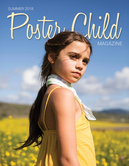 POSTER CHILD MAG SUMMER COVER